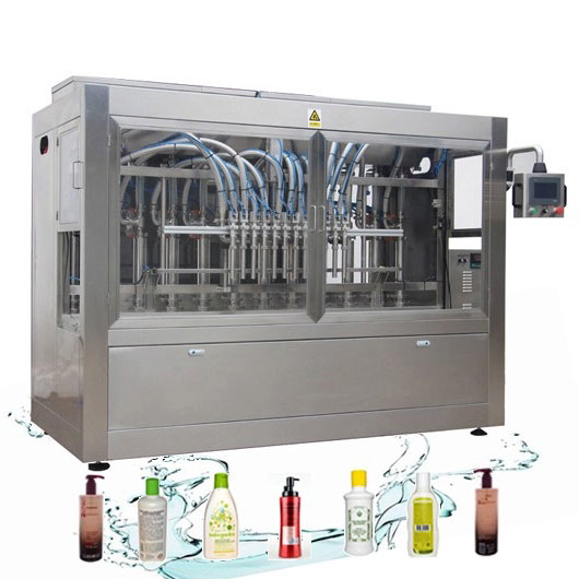 آلة تعبئة منظفات الغسيل السائلة الأوتوماتيكية المقاومة للتآكل